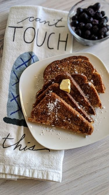 Eggless French Toast (6 Ingredients!) | Welcome to The ...